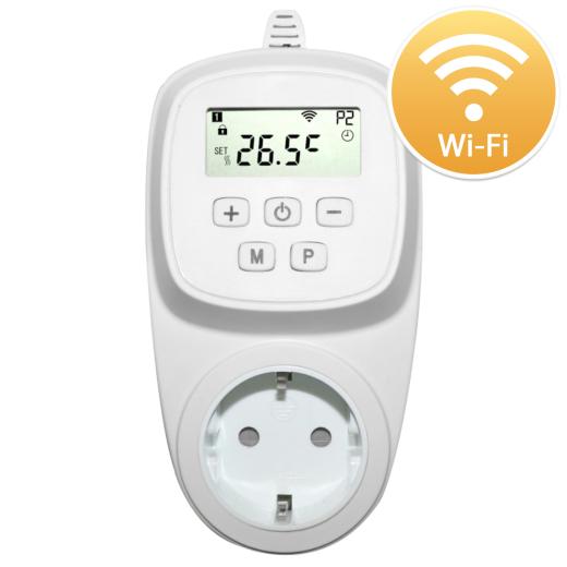 HT08 Digital Thermostat Vorderansicht