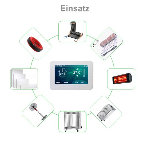Optima Wlan 7 Touch Thermostat
