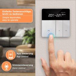 Cubee TH213 Wifi Thermostat Vorderansicht