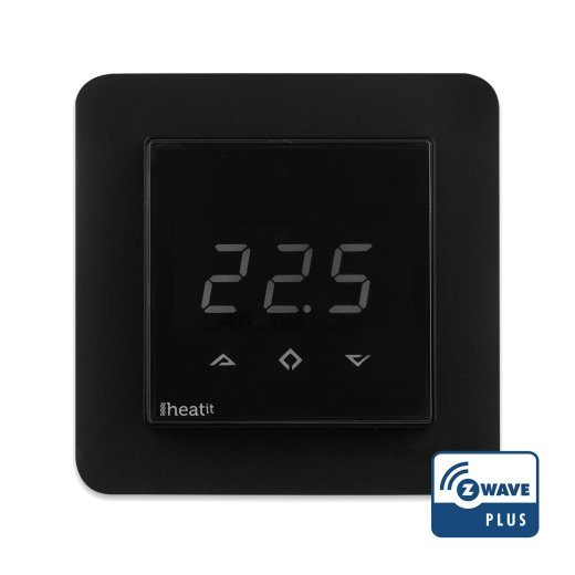 Heatit Z-wave Digital Thermostat Front View