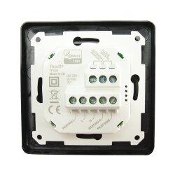 Heatit Z-Wave Thermostat Black