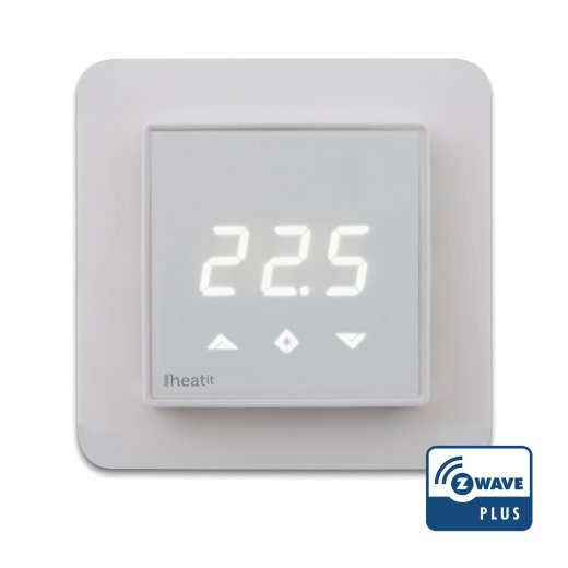 Heatit Z-wave Digital Thermostat Vorderansicht