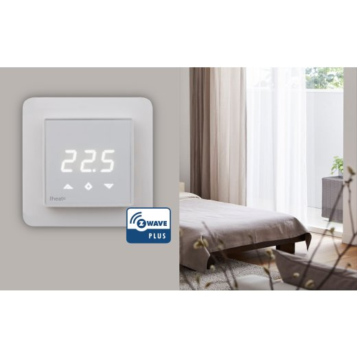Heatit Z-Wave Thermostat White