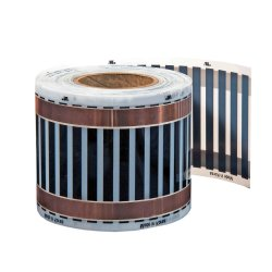 12V Heating Film 14cm wide 110W/m²
