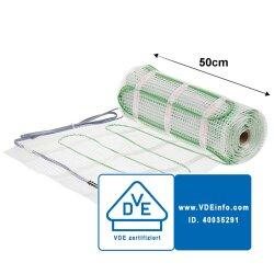 Mi-Heat® Heizmatte Silber 200W/m²