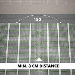 Mi-Heat® Heating Mat Silver 200W/m²