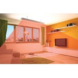 Ballu infrared dark heater AP4 600-2000W for Wall and ceiling mounting