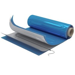 Aluminium Underfloor Heating 100Watt/m² 1m²...
