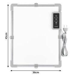 Infrarot Schreibtisch-Heizung 36x45cm